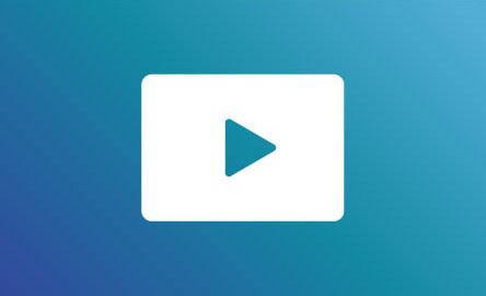 プロモーション動画などをサイトにアップに関する画像(動画再生マークが表示されている)